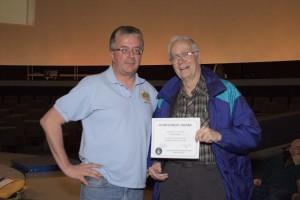 2014 President's Service Award - Franklin Loehde