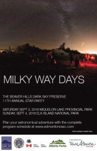 20160903 Milky Way Days Poster Main